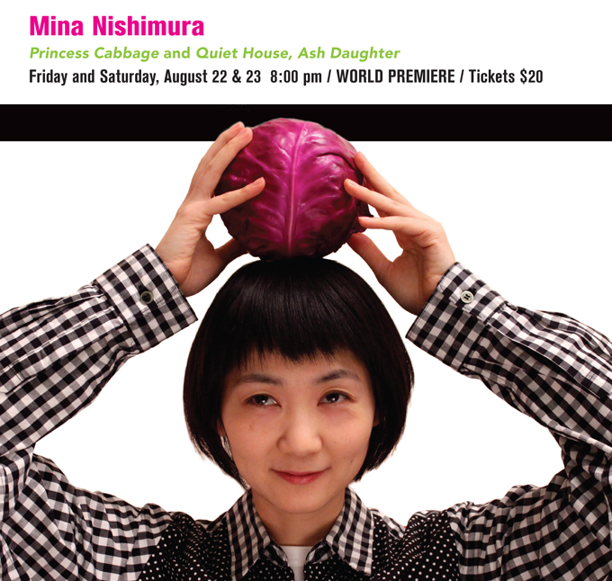 Mina Nishimura Princess Cabbage and Quite House, Ash Daughter